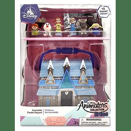 Elsa y Ana - mini animators - Castillo Arendelle - Frozen