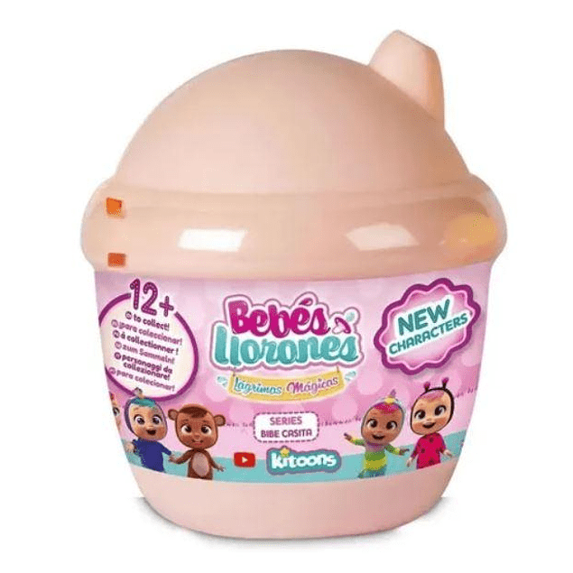 Cry Babies - Magic Tears Mini Bottle House - Bebes llorones