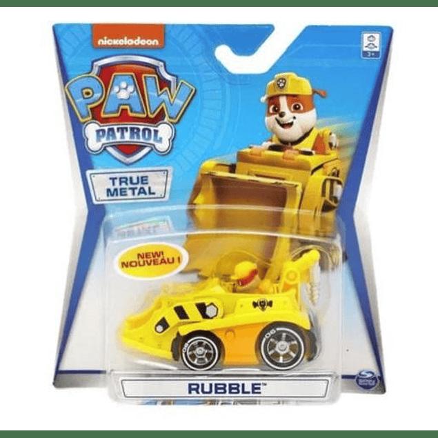 Paw Patrol - Rubble - Mini Vehiculo - Metálico