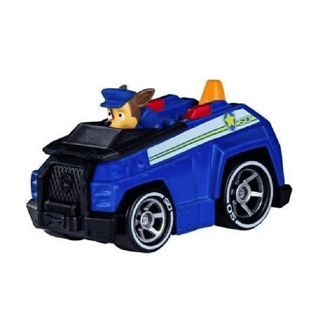 Paw Patrol - Chase - Mini Vehiculo - Metálico