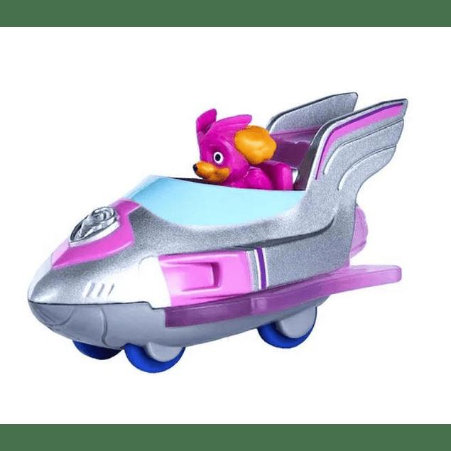 Paw Patrol - Skye Super Paws - Mini Vehiculo - Metálico