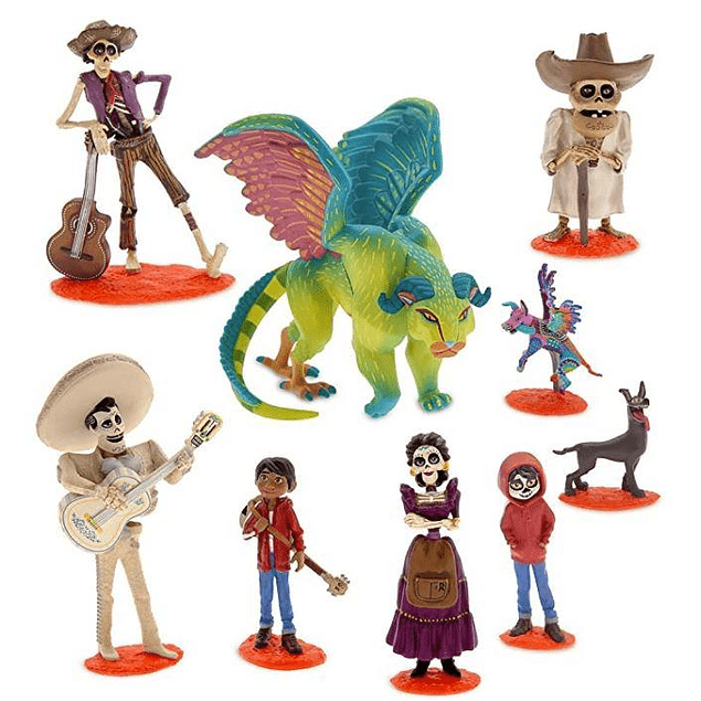 Set de Figuritas de Coco - Disney deluxe set