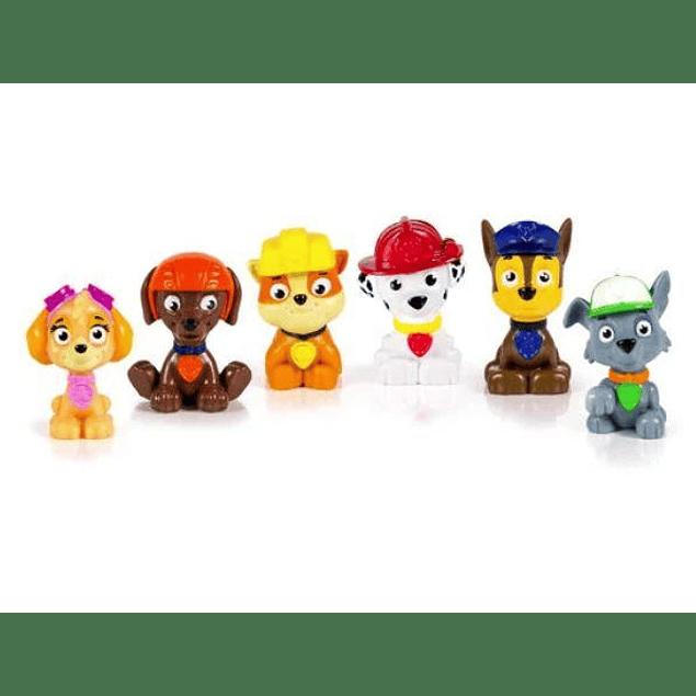 Figuras mini cachorros paw patrol