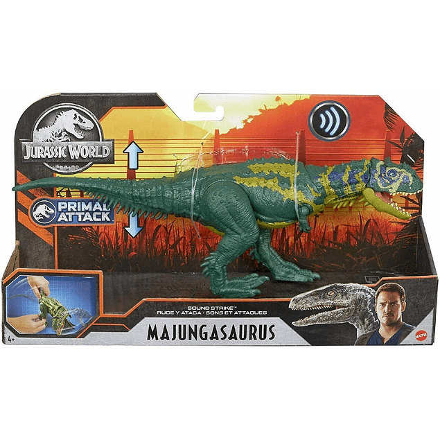 Majungasaurus - Ruge y ataca - Jurassic World