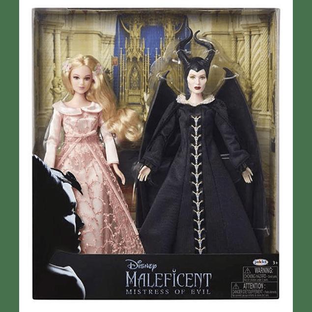 Malefica y Aurora - Mistress of evil - muñeca coleccionable