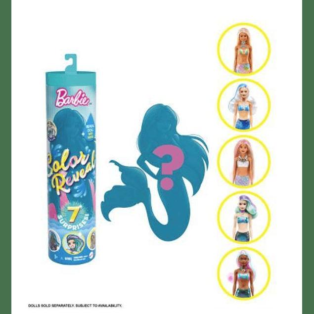 Barbie color reveal - Sirena