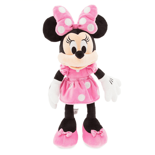 Minnie Mouse Rosada - Peluche 40 cms - Disney