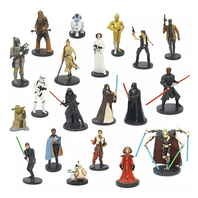 Mega Set de personajes Star Wars