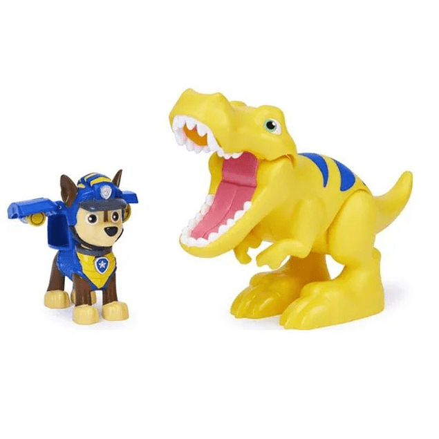 Paw Patrol - Dino Rescue - Chase y Tyrannosaurus Rex