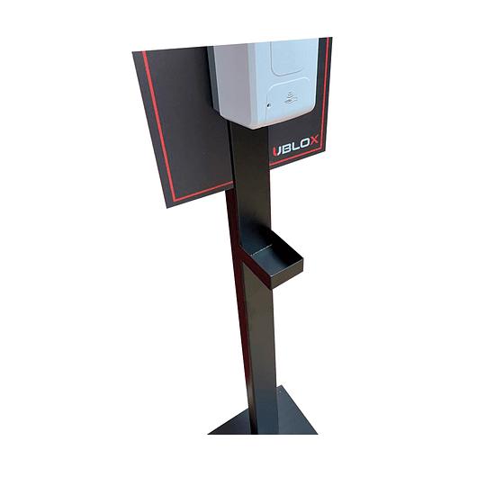 Sanitizador automático de manos con pedestal