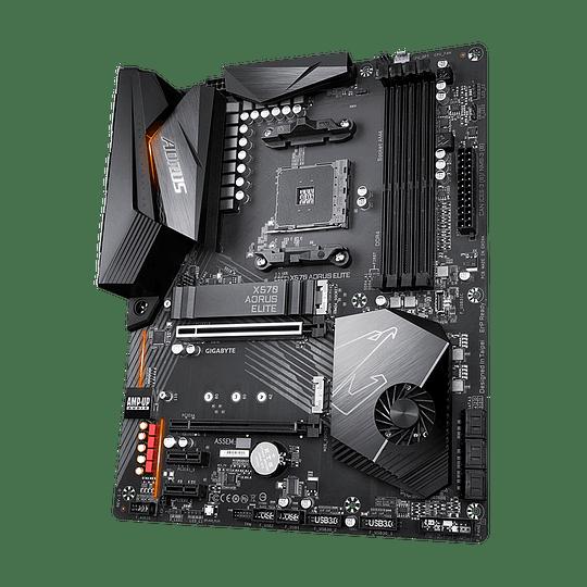 Placa Madre Gigabyte X570 AORUS ELITE AMD - Image 5