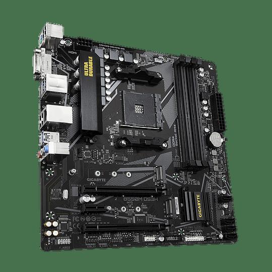 Placa Madre Gigabyte AMD B550M DS3H (rev. 1.x)  - Image 3