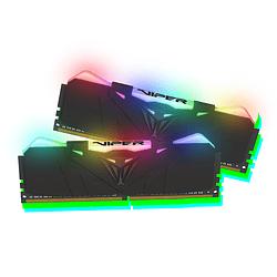 Memoria RAM Patriot VIPER RGB 16 GB(2X8GB) 3200 MHZ DDR4