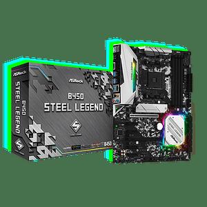 Placa Madre B450 Steel Legend