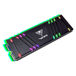 SSD Patriot Viper Gaming VPR100 RGB M.2 2280 de 512GB