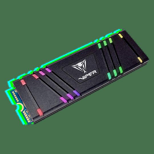 SSD Patriot Viper Gaming VPR100 RGB M.2 2280 de 512GB - Image 1