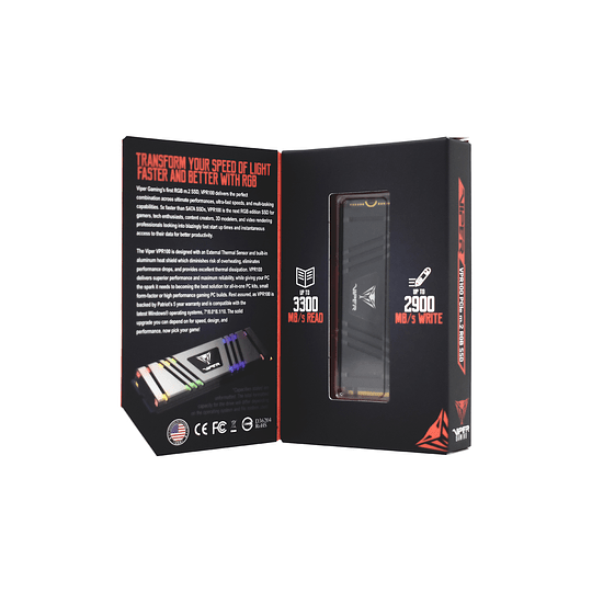 SSD Patriot Viper Gaming VPR100 RGB M.2 2280 de 512GB - Image 13