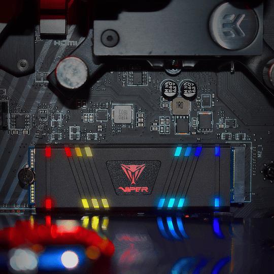 SSD Patriot Viper Gaming VPR100 RGB M.2 2280 de 512GB - Image 19