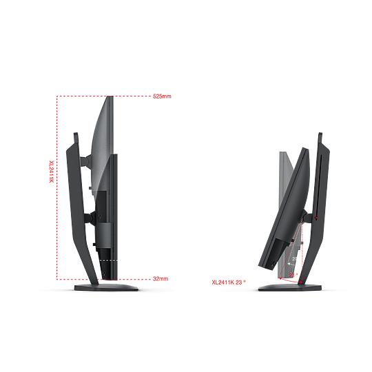 Monitor Zowie XL2411K - Image 7