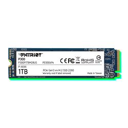 SSD Patriot P300 M.2 PCIe Gen 3 x4 1TB