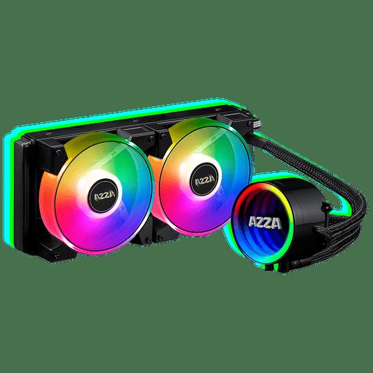 Cooler Líquido AZZA CPU 240MM ARGB - Image 1