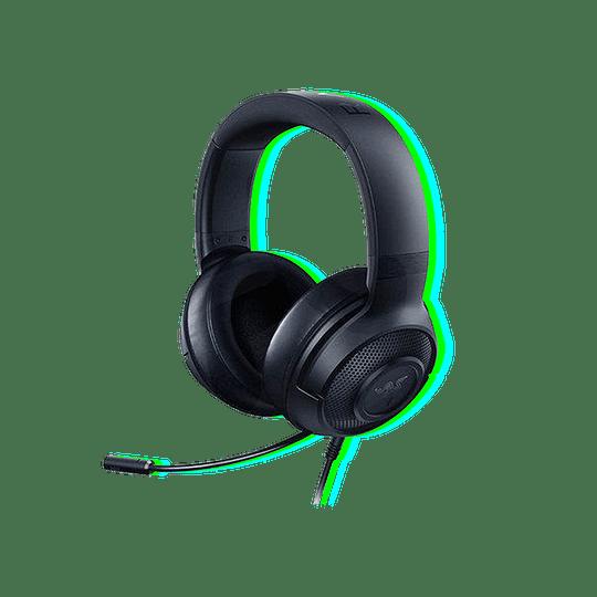Audífonos Razer Kraken Oval PS4 PC Xbox-One Switch Negro  - Image 1