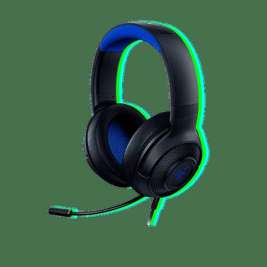 Audífonos Razer Kraken X For console/PC - Blue - Image 1