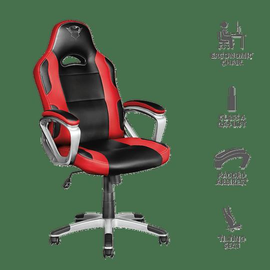 Silla Profesional Gamer TRUST GXT 705R Ryon - Roja - Image 5