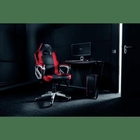 Silla Profesional Gamer TRUST GXT 705R Ryon - Roja - Image 11