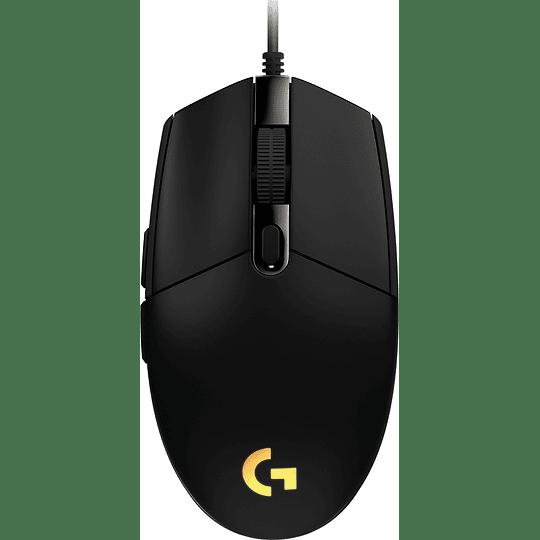 Mouse Gamer Logitech G203 RGB LIGHTSYNC, 6 botones programables, 8.000 DPI, Black - Image 3