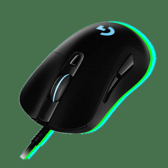 Mouse Gamer Logitech G403 Hero, 16.000 DPI Max, Sensor HERO 16K, Iluminación RGB LIGHTSYNC  - Image 1
