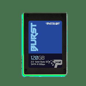 "Patriot SSD 120GB Burst 2.5"" SATA III"
