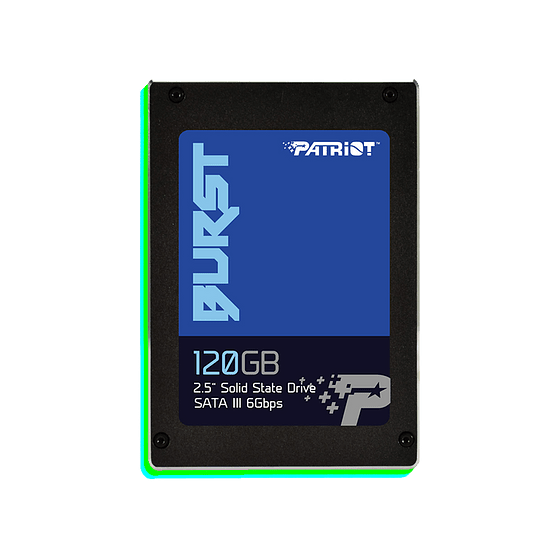 "Patriot SSD 120GB Burst 2.5"" SATA III  - Image 1"