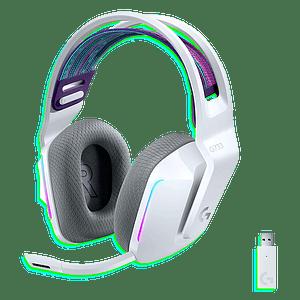 Logitech G733 Lightspeed Wireless RGB Gaming Headset - White (981-000882)