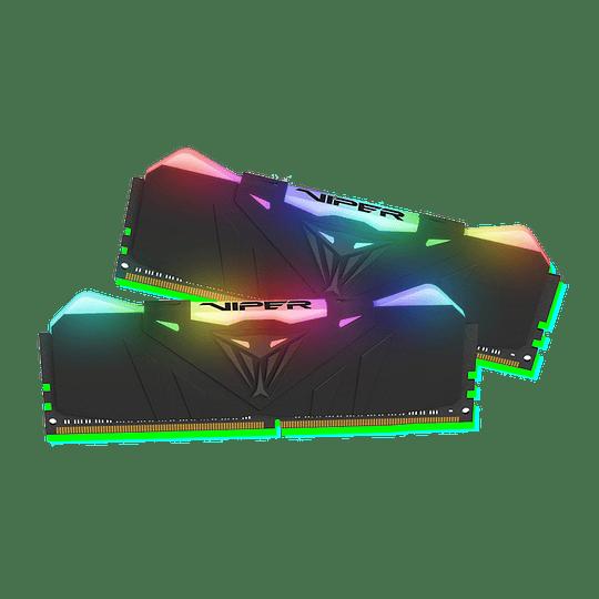 Memoria RAM Patriot VIPER RGB 16GB (2X8GB) 4000MHz CL 19 DDR4 KIT - Image 1