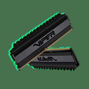 Memoria RAM Patriot Viper  4 BLACKOUT DDR4, 3200MHz, 16GB (2 x 8GB), Non-ECC, CL16, XMP Kit