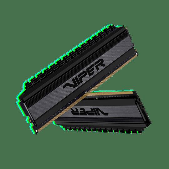 Memoria RAM Patriot Viper  4 BLACKOUT DDR4, 3200MHz, 16GB (2 x 8GB), Non-ECC, CL16, XMP Kit  - Image 1