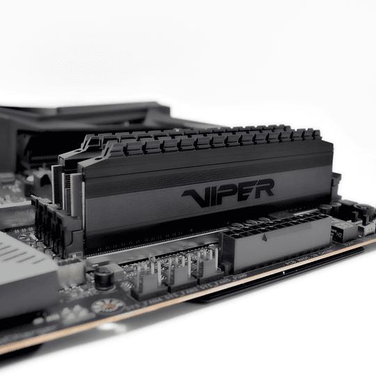 Memoria RAM Patriot Viper  4 BLACKOUT DDR4, 3200MHz, 16GB (2 x 8GB), Non-ECC, CL16, XMP Kit  - Image 7