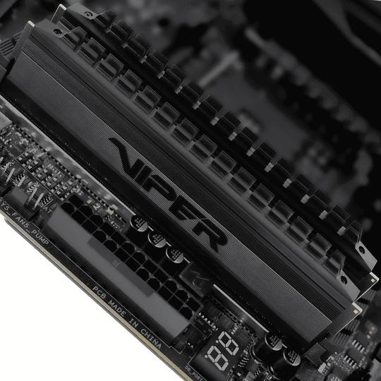 Memoria RAM Patriot Viper  4 BLACKOUT DDR4, 3200MHz, 16GB (2 x 8GB), Non-ECC, CL16, XMP Kit  - Image 10
