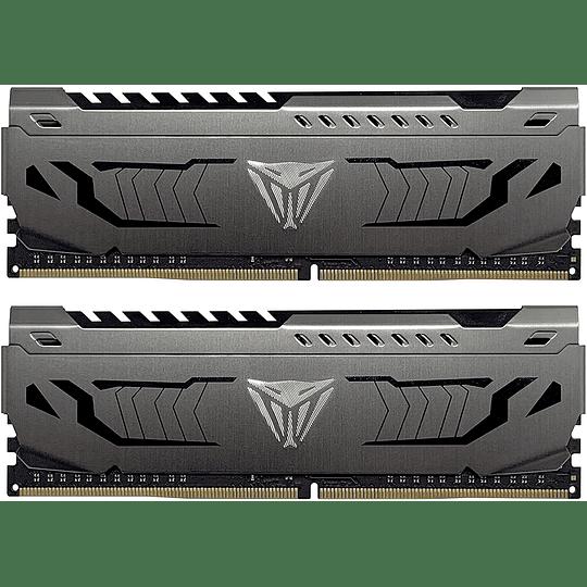 Memoria RAM Patriot VIPER STEEL 16GB (2X8GB) 4000MHz CL 19 DDR4 KIT - Image 2