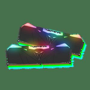 Memoria RAM Patriot VIPER RGB 16GB (1x16GB) 3600MHz CL18 BLK RGB HS