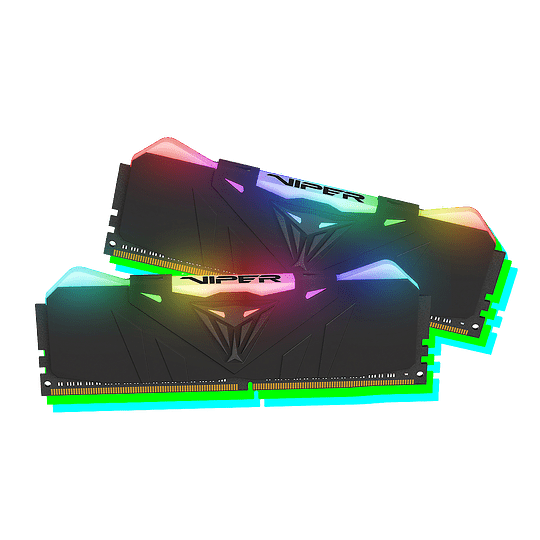 Memoria RAM Patriot VIPER RGB 16GB (1x16GB) 3600MHz CL18 BLK RGB HS - Image 1