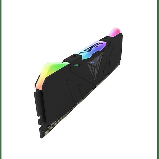 Memoria RAM Patriot VIPER RGB 16GB (1x16GB) 3600MHz CL18 BLK RGB HS - Image 2
