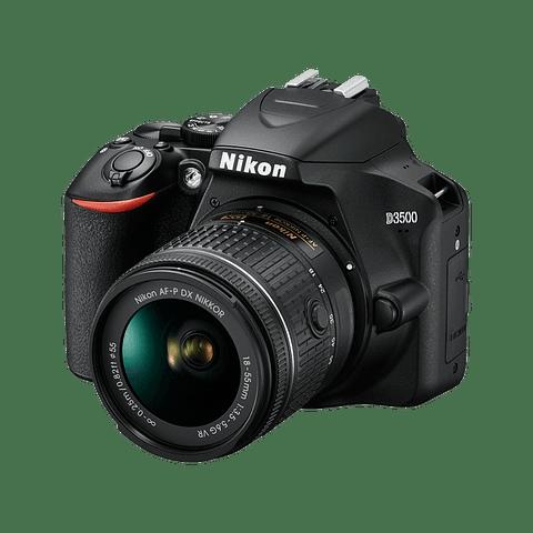 Nikon D3500 18-55mm Vr AFP con memoria 32gb y Estuche