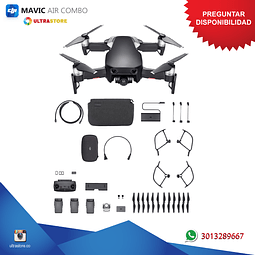 Dron DJI Mavic Air Combo 4K UHD 12mpx Pánoramica Wifi Dual Reacondicionado
