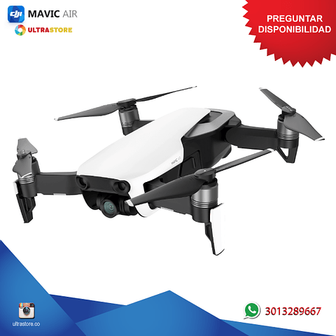 Dron DJI Mavic Air RB 4K UHD 12mpx Pánoramica Wifi Dual