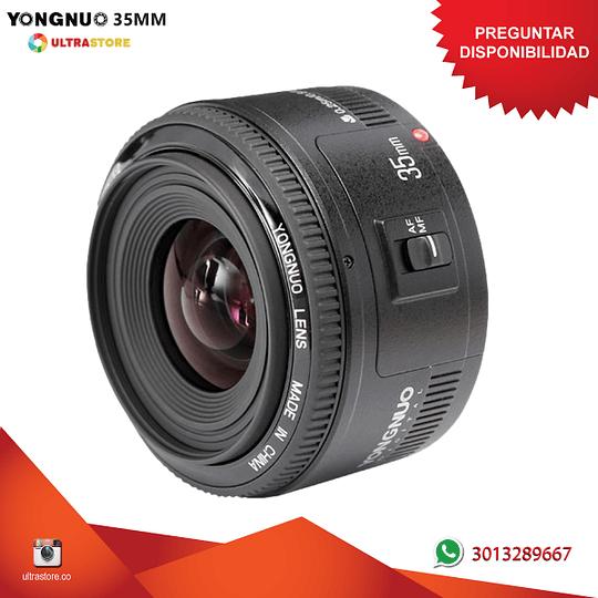 Yongnuo YN 35mm F2 para Canon EF APS FX