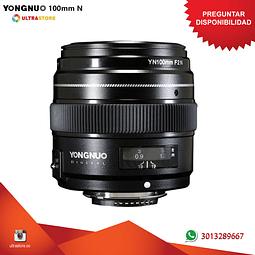 Yongnuo YN 100mm F2 para Nikon DX FX