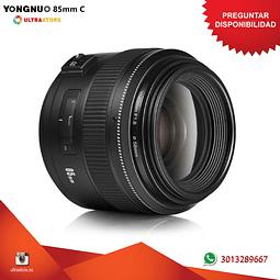 Yongnuo YN 85mm F1.8 para Canon EF APS FX