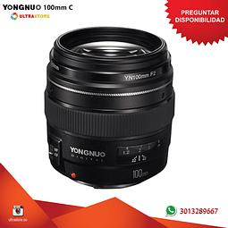 Yongnuo YN 100mm F2 para Canon EF APS FX